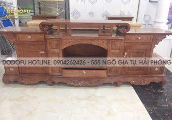 kệ tivi gỗ xoan đào giá rẻ