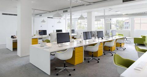 bàn ghế văn phòng lịch sự hợp phong thủy