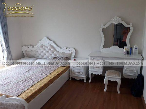 giường ngủ cao cấp hải phòng Dodofu