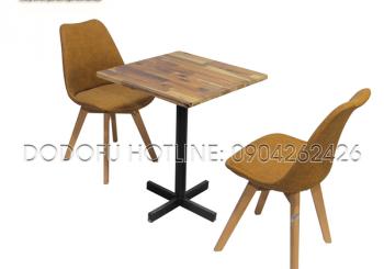 bàn cafe vuông 1 chân