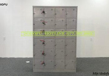 Tủ locker sơn tĩnh điện 24 ô