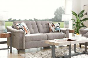 ghế sofa nỉ phòng khách đẹp