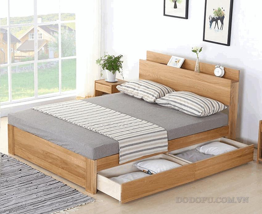 giường ngủ ngẳn kéo