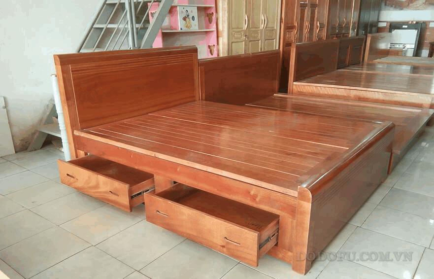 giường ngủ gỗ thịt hải phòng