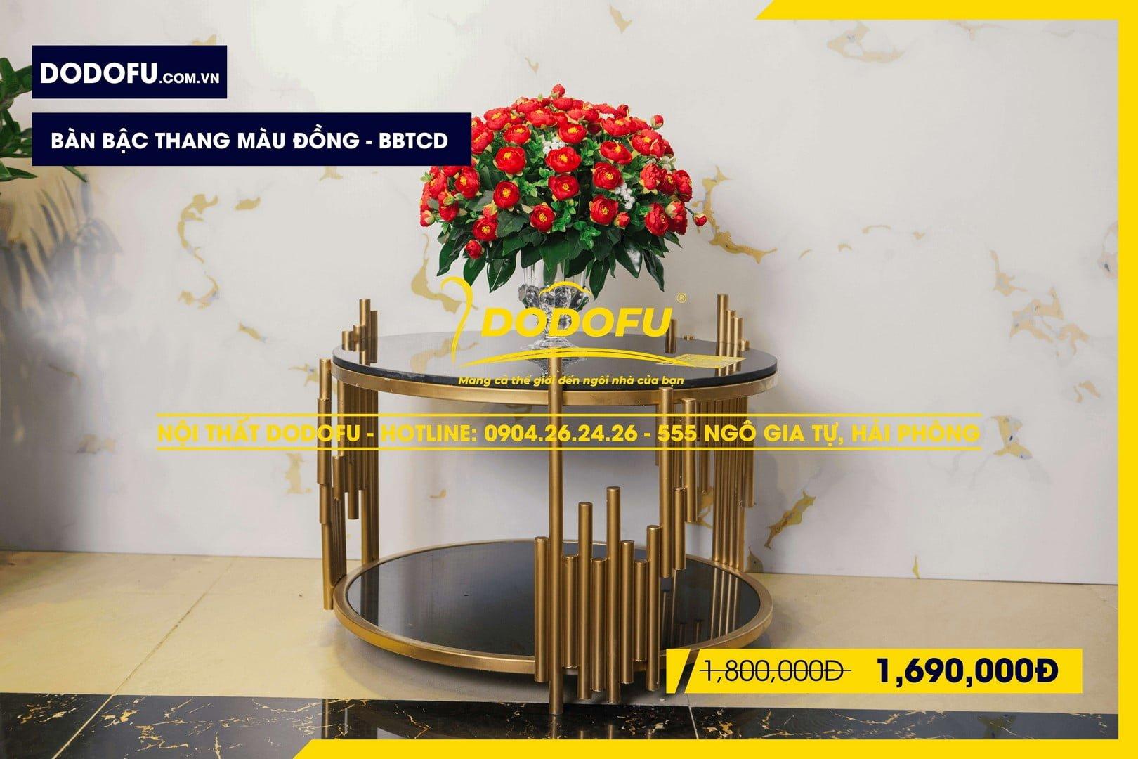 bàn bậc thang màu đồng hải phòng