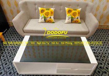 bộ sofa nỉ giá rẻ