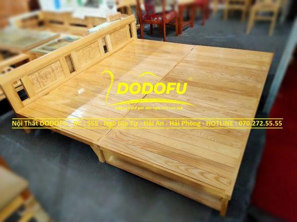 giường ghế gỗ sồi hải phòng