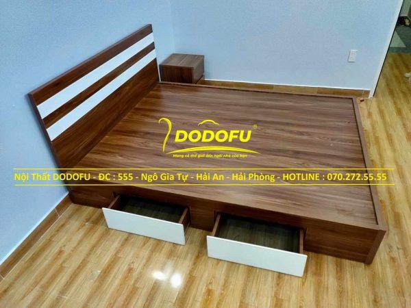 giường ngủ gỗ min hải phòng