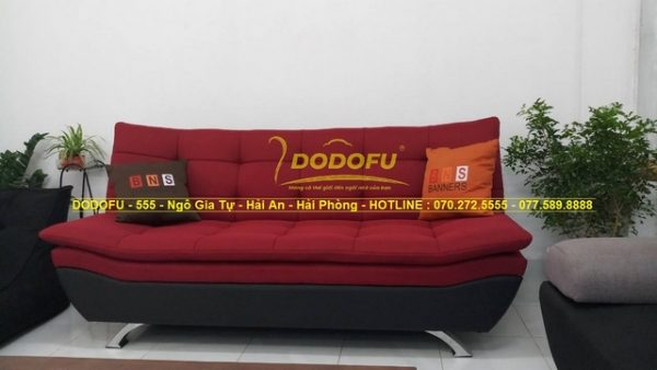 sofa giường màu mận