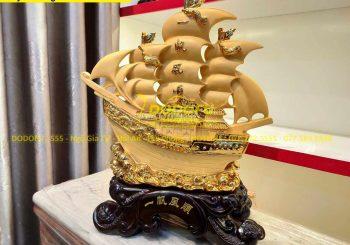 thuyền vàng phong thủy hải phòng