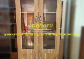 tủ tài liệu gỗ min hải phòng