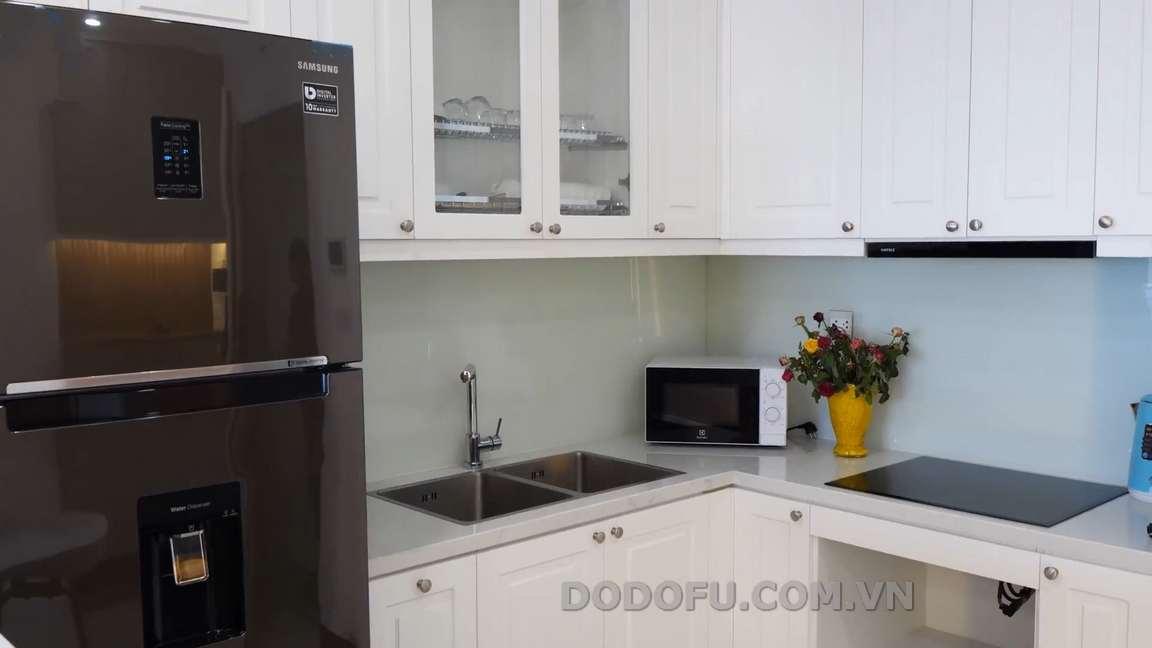 Tủ bếp mini chung cư Hải Phòng