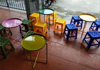 bàn ghế trà chanh ngỏ gọn giá rẻ
