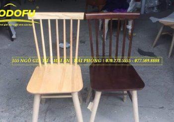 ghế ăn gỗ 7 song