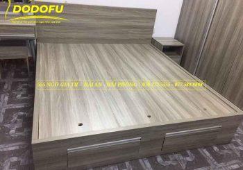Giường gỗ Min 1m6 - 2m - GGM