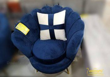 Sofa sò màu xanh