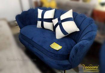 Sofa sò văng màu xanh