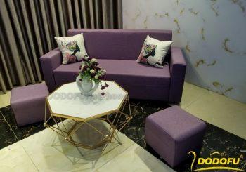 Sofa văng màu tím
