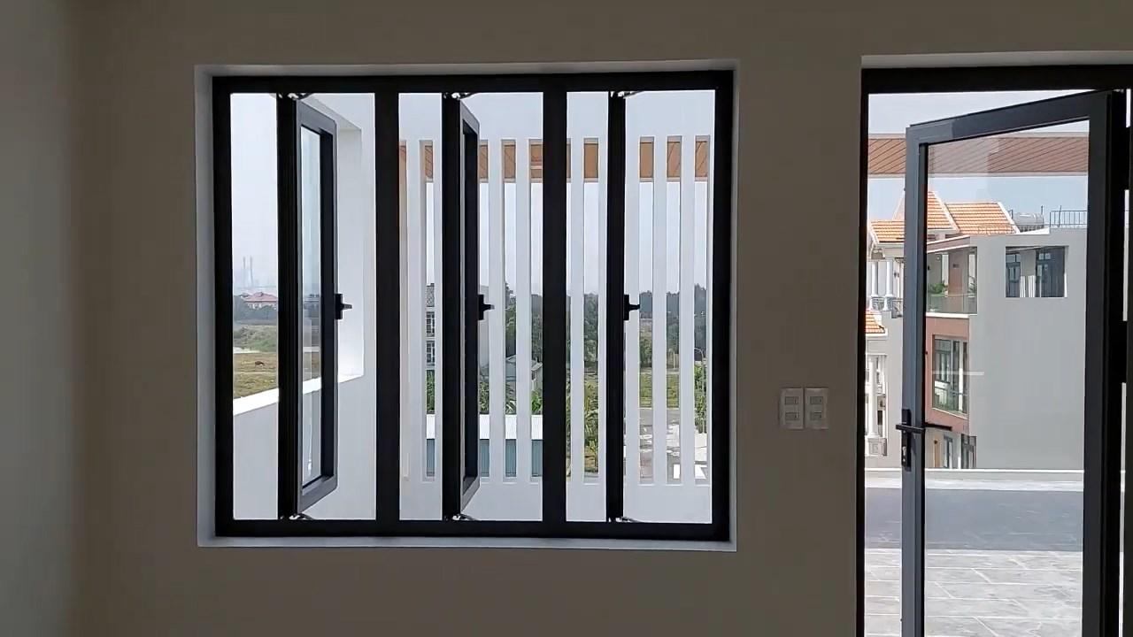 cửa nhôm xingfa 3 cánh Hải Phòng