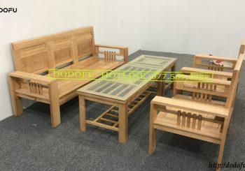 bộ bàn ghế phúc lộc thọ sơn bóng