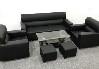 bộ ghế sofa da kiểu nhật