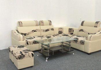 bộ sofa vải mini hoa cúc